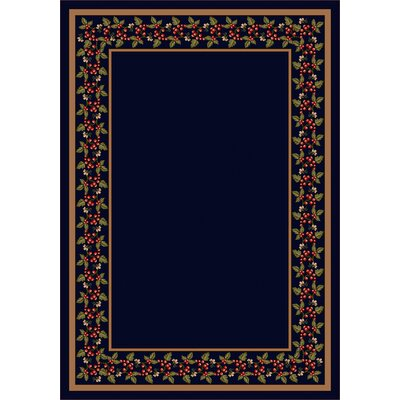Design Center Onyx Wildberry Area Rug Rug Size: Rectangle 54 x 78