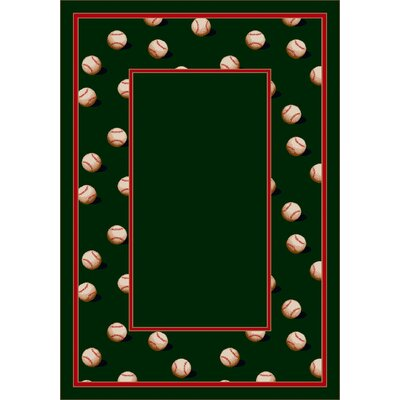 Design Center Olive Slider Area Rug Rug Size: Round 77