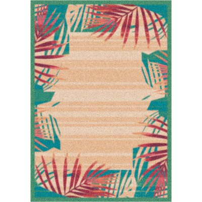 Modern Times Palm Verde Area Rug Rug Size: Rectangle 310 x 54