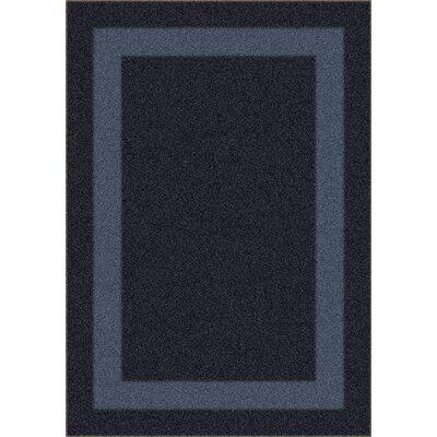 Modern Times Bailey Ebony Area Rug Rug Size: Rectangle 78 x 109