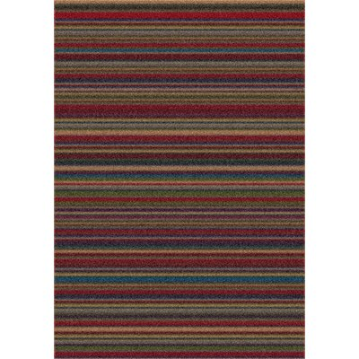 Modern Times Canyon Deep Olive Area Rug Rug Size: Rectangle 109 x 132