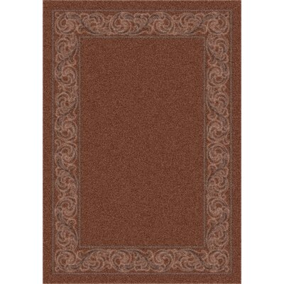 Modern Times Sonata Cafe Creme Area Rug Rug Size: Rectangle 78 x 109