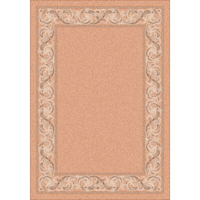 Modern Times Sonata Almond Area Rug Rug Size: Rectangle 109 x 132