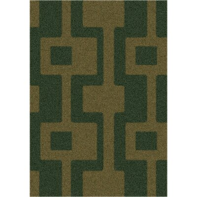 Modern Times Uptown Yew Tree Area Rug Rug Size: Rectangle 54 x 78