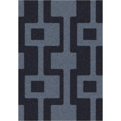 Modern Times Uptown Ebony Area Rug Rug Size: Rectangle 109 x 132