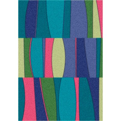 Modern Times Sinclair Fanfare Area Rug Rug Size: Rectangle 109 x 132