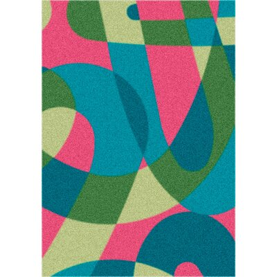 Modern Times Element Multi Area Rug Rug Size: Oval 310 x 54