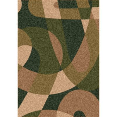 Modern Times Element Olivine Area Rug Rug Size: Rectangle 28 x 310