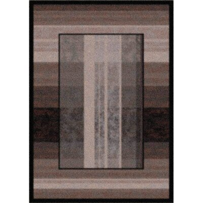Modern Times Aspire Ebony Area Rug Rug Size: Rectangle 28 x 310