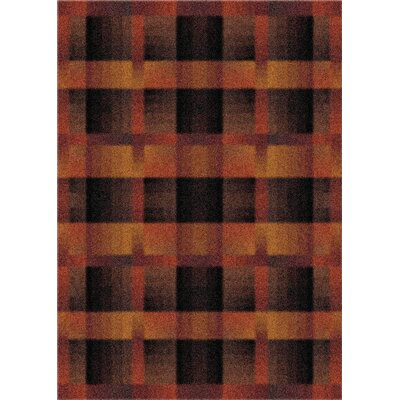 Modern Times Aura Caf� Cr�me Area Rug Rug Size: Rectangle 78 x 109