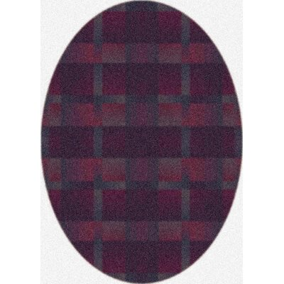Modern Times Aura Vineyard Area Rug Rug Size: Oval 54 x 78