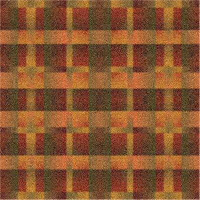 Modern Times Aura Fall Orange Area Rug Rug Size: Square 77