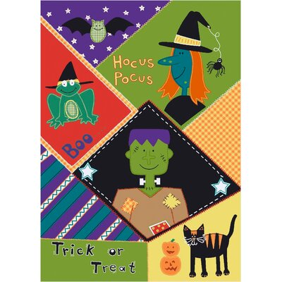 Fall Seasonal Pocus Hocus Area Rug Rug Size: Rectangle 310 x 54