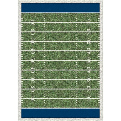 My Team Sport Friday Nights Novelty Area Rug Rug Size: Rectangle 109 x 132