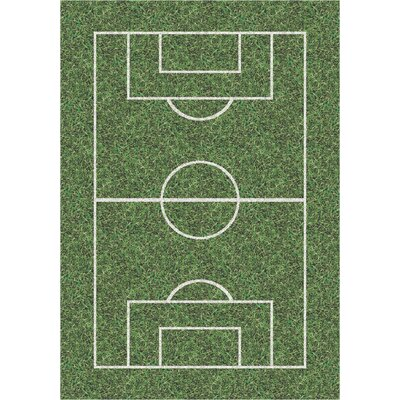 My Team Sport World Cup Novelty Area Rug Rug Size: Rectangle 109 x 132