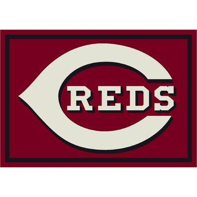 Milliken MLB Spirit Cincinnati Reds Novelty Rug - Rug Size: 3'10