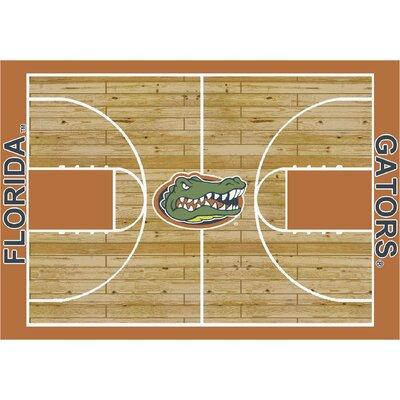 Milliken College Court Florida Gators Rug - Size: 5' 4