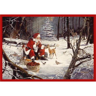 RJ McDonald Christmas Party Area Rug Rug Size: Rectangle 28 x 310