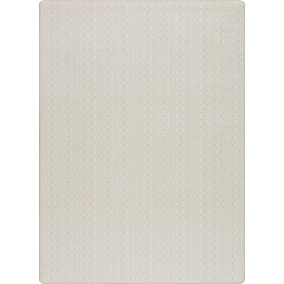 Imagine Bisque Area Rug Rug Size: 78 x 109