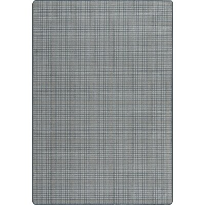 Imagine Federal Blue Area Rug Rug Size: Rectangle 78 x 109