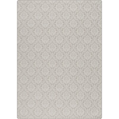 Imagine Parisian Taupe Area Rug Rug Size: Rectangle 78 x 109
