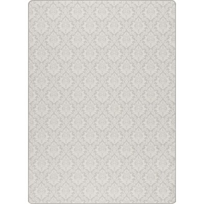 Imagine Etched Silver Area Rug Rug Size: Rectangle 78 x 109