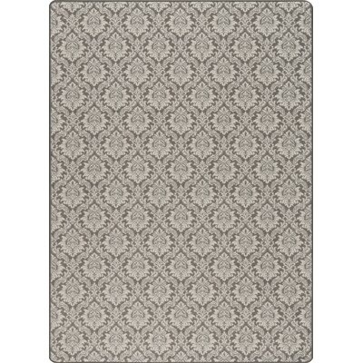 Imagine Charcoal Area Rug Rug Size: 54 x 78