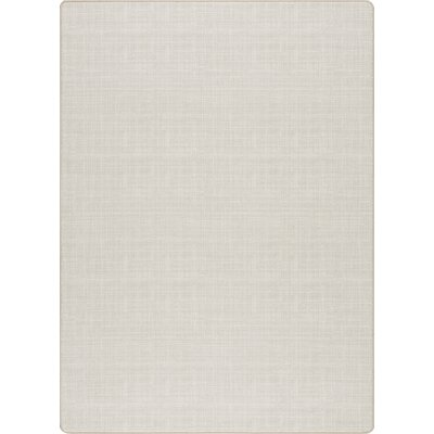 Imagine Warm Silver Area Rug Rug Size: 78 x 109