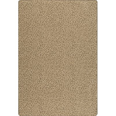 Imagine Desert Tan Area Rug Rug Size: 78 x 109