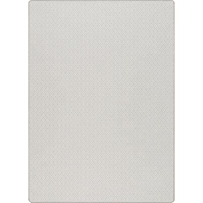 Imagine Mist Gray Area Rug Rug Size: 78 x 109