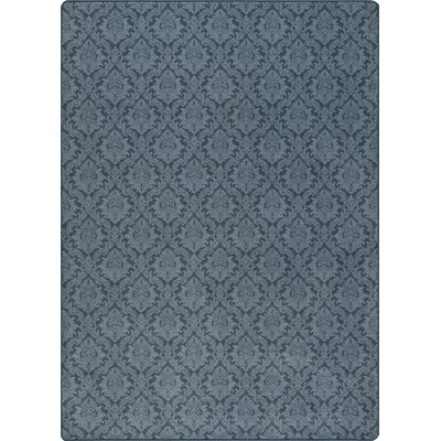 Imagine Regal Blue Area Rug Rug Size: 54 x 78