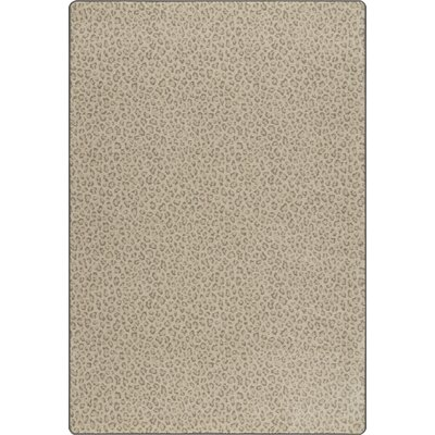 Imagine Tawny Gray Area Rug Rug Size: 3'10