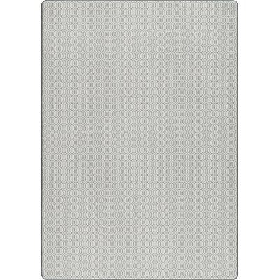 Imagine Gray Area Rug Rug Size: 7'8