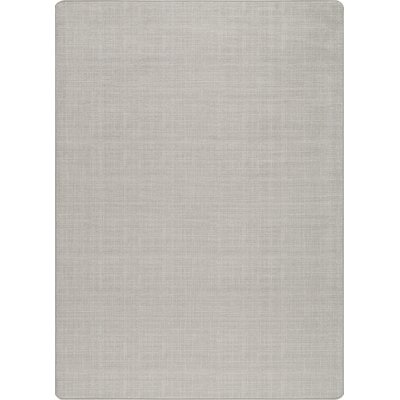 Imagine Pale Pewter Area Rug Rug Size: 54 x 78