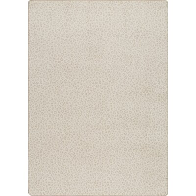 Imagine Persian Beige Area Rug Rug Size: 78 x 109