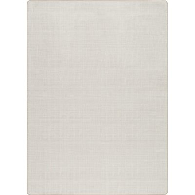 Imagine Alabaster Area Rug Rug Size: Rectangle 54 x 78