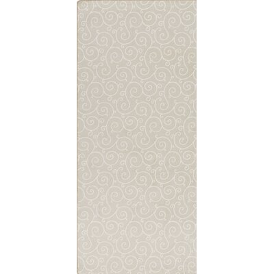 Imagine Ecru Area Rug Rug Size: Runner 21 x 78