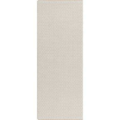 Imagine Bisque Area Rug Rug Size: Runner 21 x 78