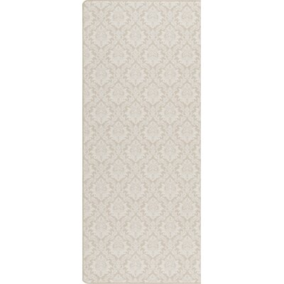 Imagine Satin Beige Area Rug Rug Size: Runner 2'1
