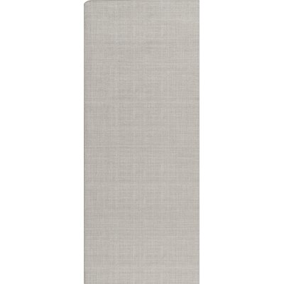 Imagine Pale Pewter Area Rug Rug Size: Runner 21 x 78