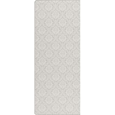 Imagine Etched Silver Area Rug Rug Size: Runner 21 x 78