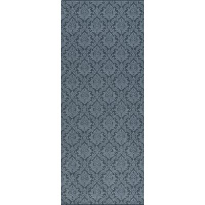Imagine Regal Blue Area Rug Rug Size: Runner 21 x 78