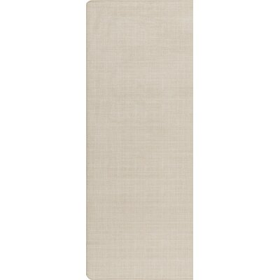 Imagine Muslin Area Rug Rug Size: Runner 21 x 78