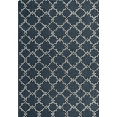 Imagine Black/Gray Area Rug Rug Size: Rectangle 78 x 109