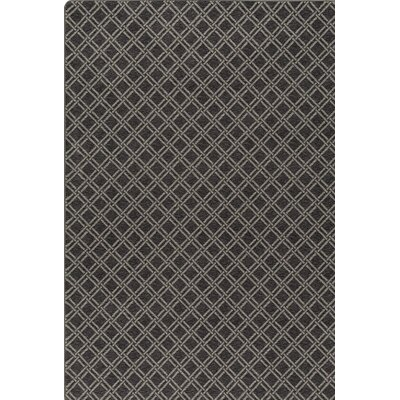 Imagine Black Area Rug Rug Size: 78 x 109