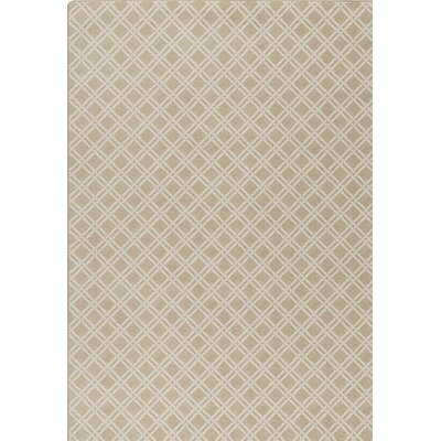 Imagine Beige Area Rug Rug Size: 54 x 78