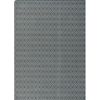 Imagine Gray Area Rug Rug Size: 78 x 109