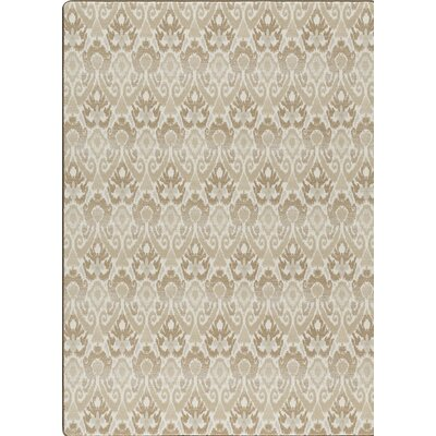 Imagine Green/Brown  Area Rug Rug Size: 78 x 109