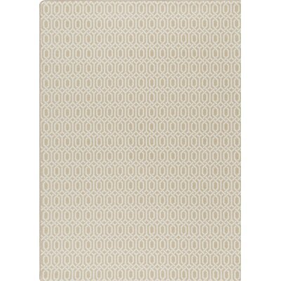 Imagine Beige Area Rug Rug Size: 78 x 109
