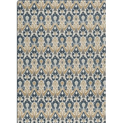 Imagine Gray/Beige Area Rug Rug Size: 78 x 109